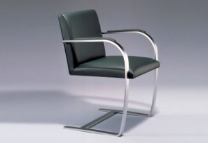 Stuhl Knoll Flat Bar Brno chair